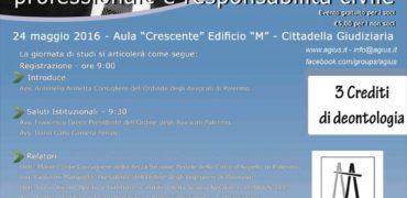 """Seminario """"Infiltrazioni mafiose e  organismi professionali: tra etica professionale e responsabilità civile"""""""