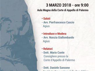 Evento formativo abbreviato 2018 Agius