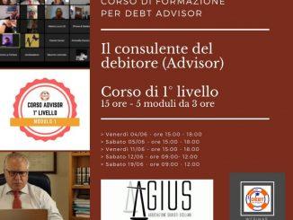 Corso di formazione per debt advisor